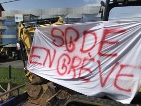 Une partie des agents de la SGDE en grève illimitée