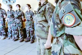 CORONAVIRUS: Arrivée d'un renfort de 22 militaires pour le CHOG