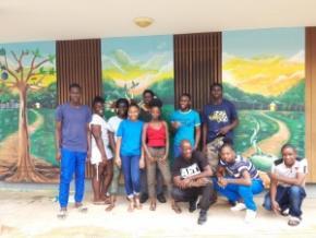 Les jeunes de la Mission locale ont donné une nouvelle vie à leurs locaux