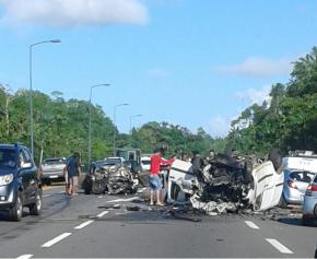 Deux accidents mortels sur les routes ce week-end