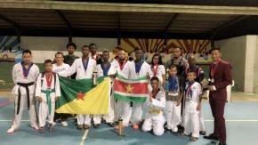 Taekwondo: Six médailles pour la Guyane dans des championnats internationaux