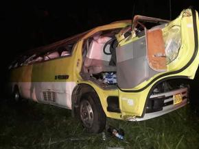 Suriname: Un grave accident sur la route d'Albina, des victimes évacuées au CHOG