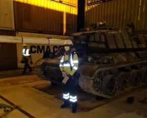 Le char d'assaut arrivé en Guyane ne servira qu'aux entraînements