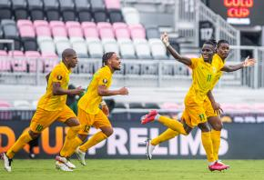Football : la Guyane sortie de la Gold Cup