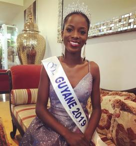 Adriana Abé, une nouvelle reine de beauté Guyanaise