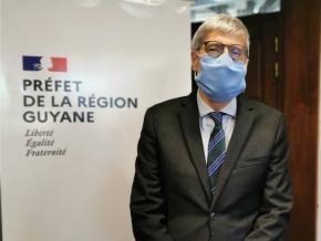 Marc Del Grande quitte ses fonctions de préfet de Guyane