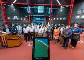 Le CNES renouvelle son engagement auprès des communes de Guyane
