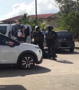 Matoury: un important dispositif de gendarmerie à la recherche de cambrioleurs armés et dangereux
