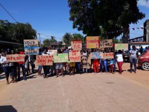 Maripasoula: les habitants n'en peuvent plus des fumées de la décharge