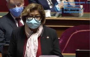 Première intervention au Sénat pour Marie-Laure Phinéra-Horth