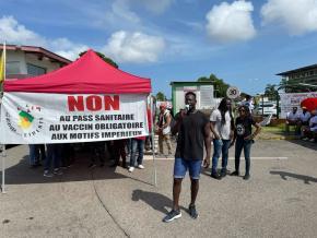 Nouvelle journée de protestation en Guyane : Sages-femmes, personnels soignants, SGDE, EDF, Grand port maritime...