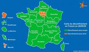 Covid-19 : la Guyane désormais classée en orange