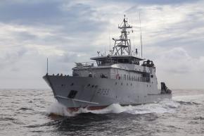Un nouveau bateau appréhendé en pleine partie de pêche illégale dans les eaux guyanaises
