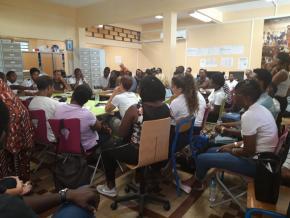 Cayenne : le lycée Anne-Marie Javouhey mobilisé pour plus de sécurité