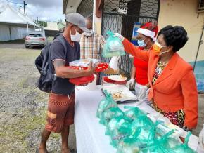 Un Noël solidaire en Guyane