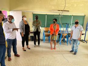 Des travaux dans des écoles de la ville de Cayenne avant la rentrée