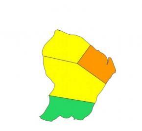 Météo : Le nord-est de la Guyane placé en vigilance ORANGE
