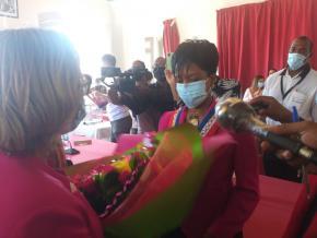 Sandra Trochimara prend la mairie de Cayenne