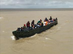 Immigration : une pirogue avec 35 personnes interceptées en mer