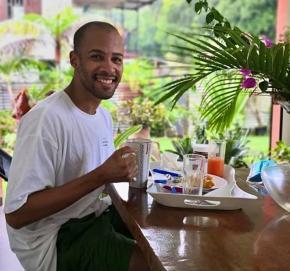 Yannick Lebrun de retour en Guyane en attendant que la crise passe à New York
